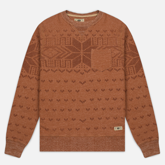 Мужская толстовка Uniformes Generale Wicker Man Pocket Crew Neck Rust Melange