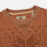 Мужская толстовка Uniformes Generale Wicker Man Pocket Crew Neck Rust Melange фото- 1