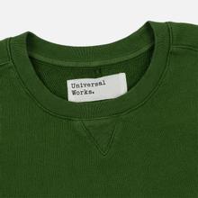 Мужская толстовка Universal Works Classic Crew Dry Handle Loopback Green фото- 1