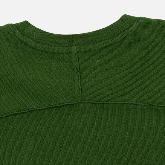Мужская толстовка Universal Works Classic Crew Dry Handle Loopback Green