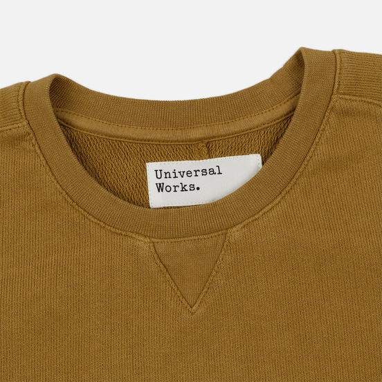 Мужская толстовка Universal Works Classic Crew Dry Handle Loopback Mustard