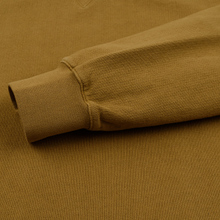 Мужская толстовка Universal Works Classic Crew Dry Handle Loopback Mustard фото- 2