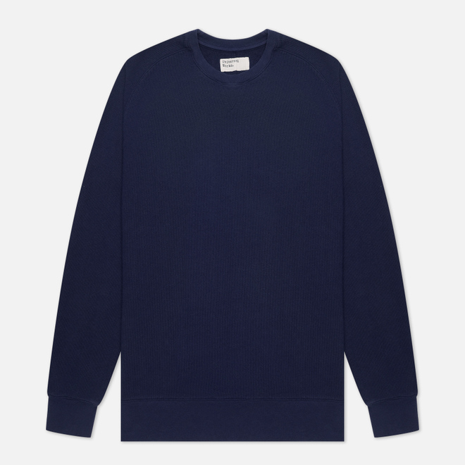 Мужская толстовка Universal Works Classic Crew Dry Handle Loopback Navy