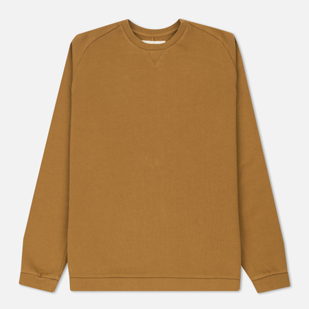 Мужская толстовка Universal Works Easy Crew Diagonal Loopback Camel