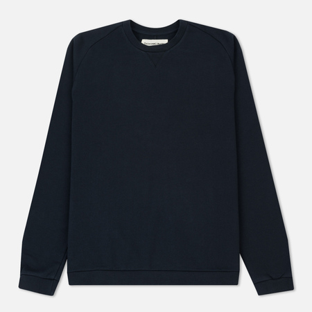 Мужская толстовка Universal Works Easy Crew Diagonal Loopback Navy