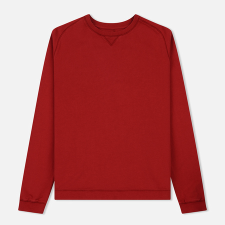 Мужская толстовка Universal Works Easy Crew Diagonal Loopback Red