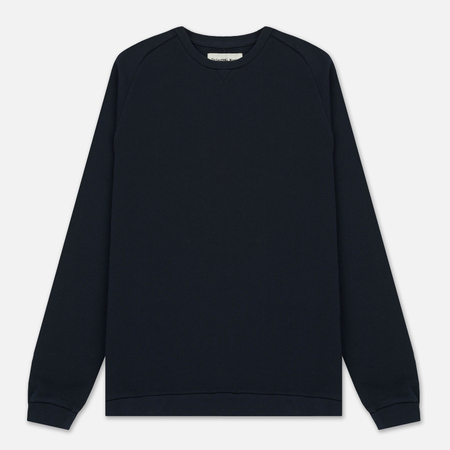 Мужская толстовка Universal Works Easy Crew Felpa Diagonal Navy