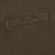 Мужская толстовка Universal Works Half Zip Dry Handle Loopback Shadow фото- 3