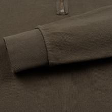 Мужская толстовка Universal Works Half Zip Dry Handle Loopback Shadow фото- 4