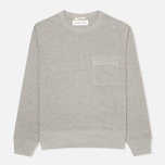 Мужская толстовка Universal Works Heskin Loopback Fleece Grey Marl фото- 0