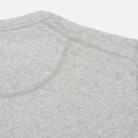 Мужская толстовка Universal Works Home Crew Luxury Jersey Grey Marl фото- 1