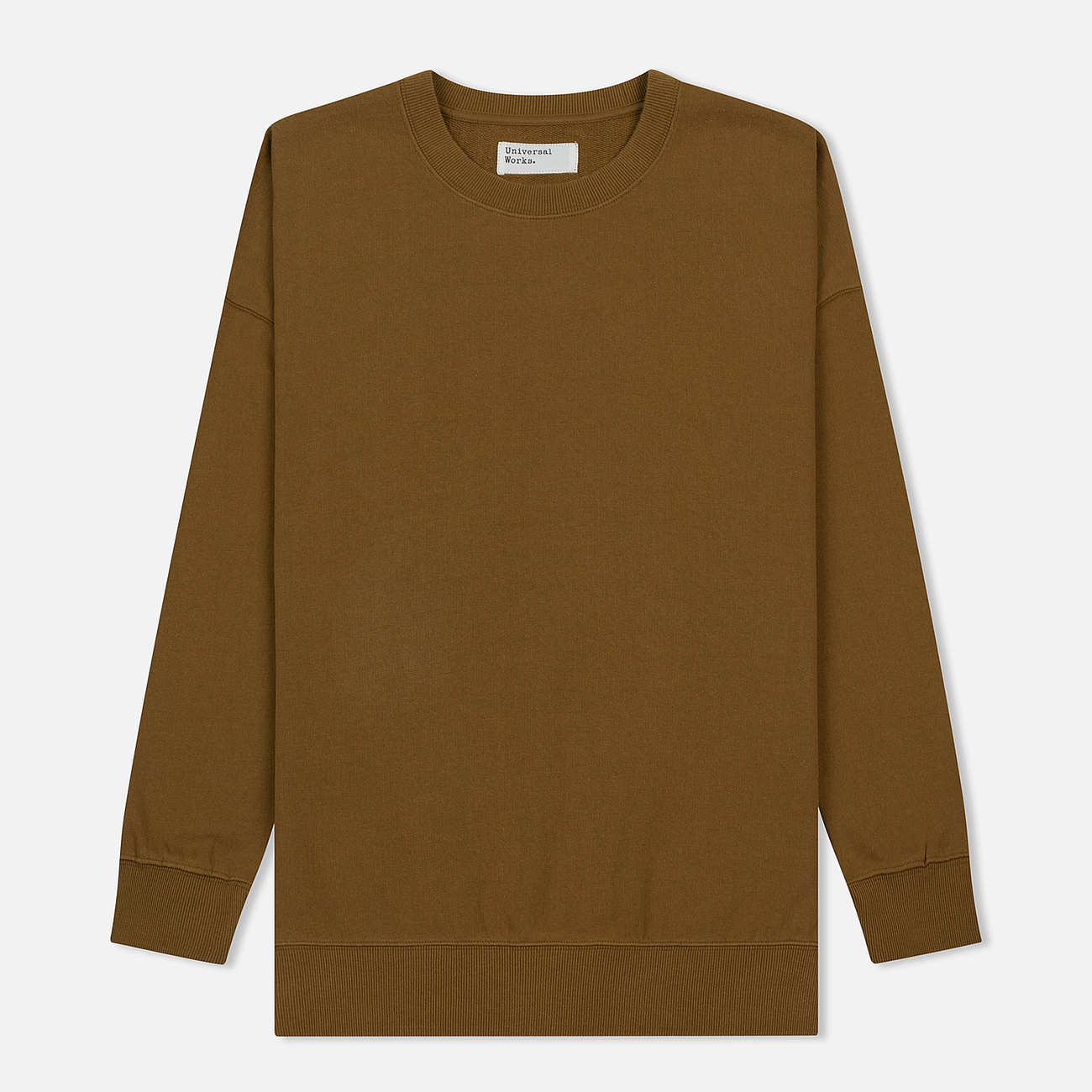 Мужская толстовка Universal Works Oversized Loopback Khaki