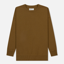 Мужская толстовка Universal Works Oversized Loopback Khaki фото- 0