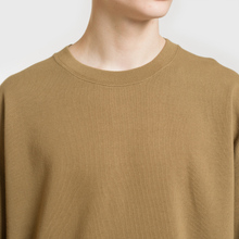 Мужская толстовка Universal Works Oversized Loopback Khaki фото- 2
