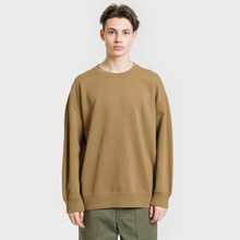 Мужская толстовка Universal Works Oversized Loopback Khaki фото- 1