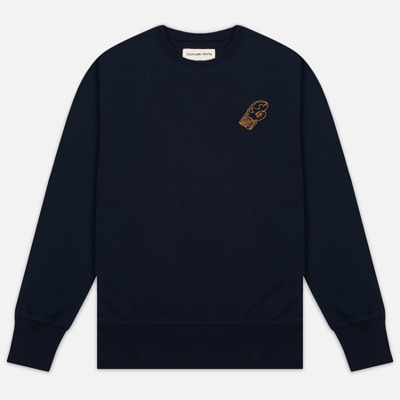 Universal Works Raglan Sport Fleece Men's Sweatshirt Navy