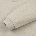 Мужская толстовка Universal Works Zip Neck Diagonal Loopback Sand Marl фото- 4