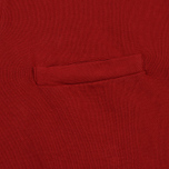 Мужская толстовка Universal Works Zip Neck Diagonal Loopback Red фото- 3