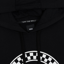 Мужская толстовка Vans Checkered Side Stripe Front Hoodie Black фото- 1