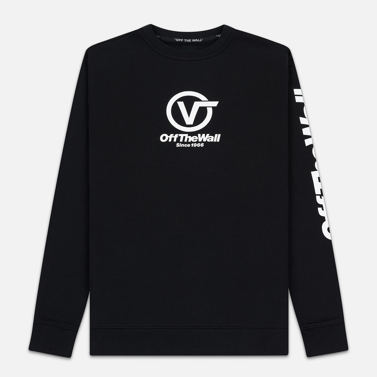 Мужская толстовка Vans Distorted Performance Crew Black