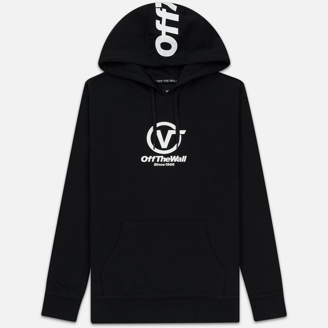 Мужская толстовка Vans Distorted Performance Hoodie Black