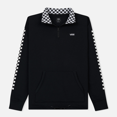 Мужская толстовка Vans Versa Quarter Zip Black/Checkerboard