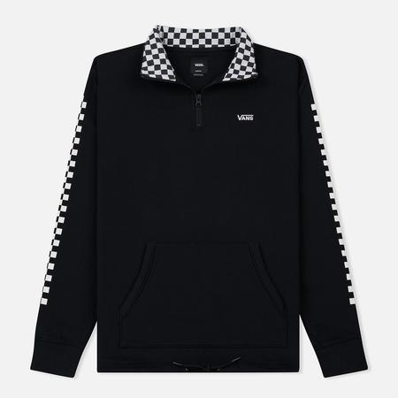 Мужская толстовка Vans Versa Quarter Zip Black/Checkerboard