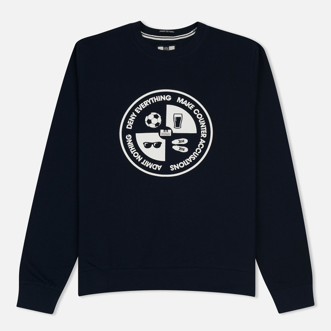 Мужская толстовка Weekend Offender Deny Everything Sweat Navy