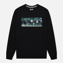 Мужская толстовка Weekend Offender Green Street Black