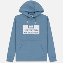 Мужская толстовка Weekend Offender HM Service AW19 Lake фото- 0