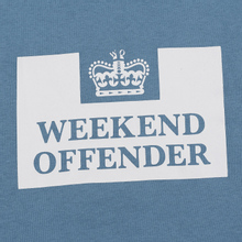 Мужская толстовка Weekend Offender HM Service AW19 Lake фото- 2