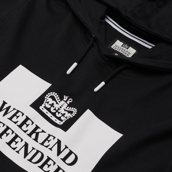 Мужская толстовка Weekend Offender HM Service Classic Black