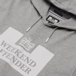 Мужская толстовка Weekend Offender HM Service Classic Grey Marl фото- 0