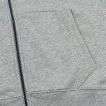 Weekend Offender Orion Hoodie Grey Marl photo- 3