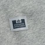 Weekend Offender Orion Hoodie Grey Marl photo- 5