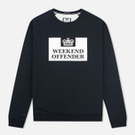 Мужская толстовка Weekend Offender Penitentiary Classic Black фото- 0