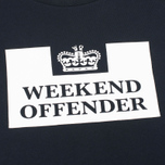 Мужская толстовка Weekend Offender Penitentiary Classic Black фото- 2