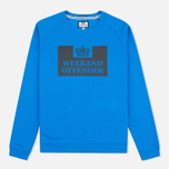 Weekend Offender Penitentiary Classic Sweatshirt Blondi Blue photo- 0