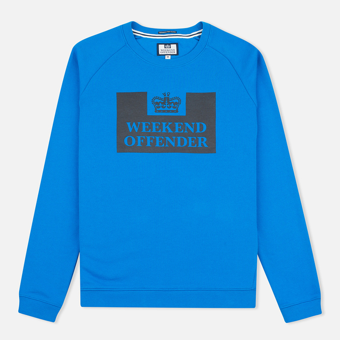 Weekend Offender Penitentiary Classic Sweatshirt Blondi Blue