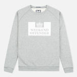 Мужская толстовка Weekend Offender Penitentiary Classic Grey Marl фото- 0