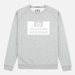 Weekend Offender Penitentiary Classic Sweatshirt Grey Marl photo- 0