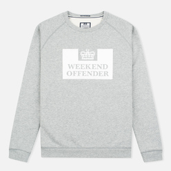 Мужская толстовка Weekend Offender Penitentiary Classic Grey Marl