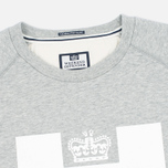 Weekend Offender Penitentiary Classic Sweatshirt Grey Marl photo- 1
