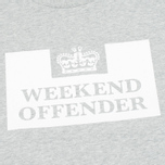 Мужская толстовка Weekend Offender Penitentiary Classic Grey Marl фото- 2