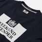 Мужская толстовка Weekend Offender Penitentiary Classic Navy фото - 1