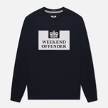 Мужская толстовка Weekend Offender Penetentiary Navy фото- 0