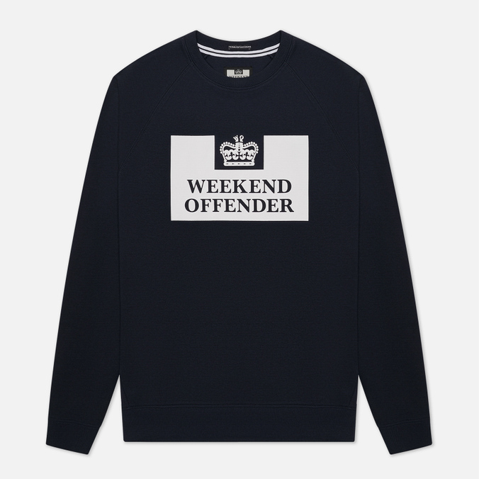 Мужская толстовка Weekend Offender Penetentiary Navy