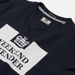 Мужская толстовка Weekend Offender Penetentiary Navy фото- 1