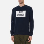 Мужская толстовка Weekend Offender Penetentiary Navy фото- 2