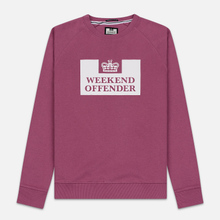 Мужская толстовка Weekend Offender Penitentiary AW19 Old Rose фото- 0